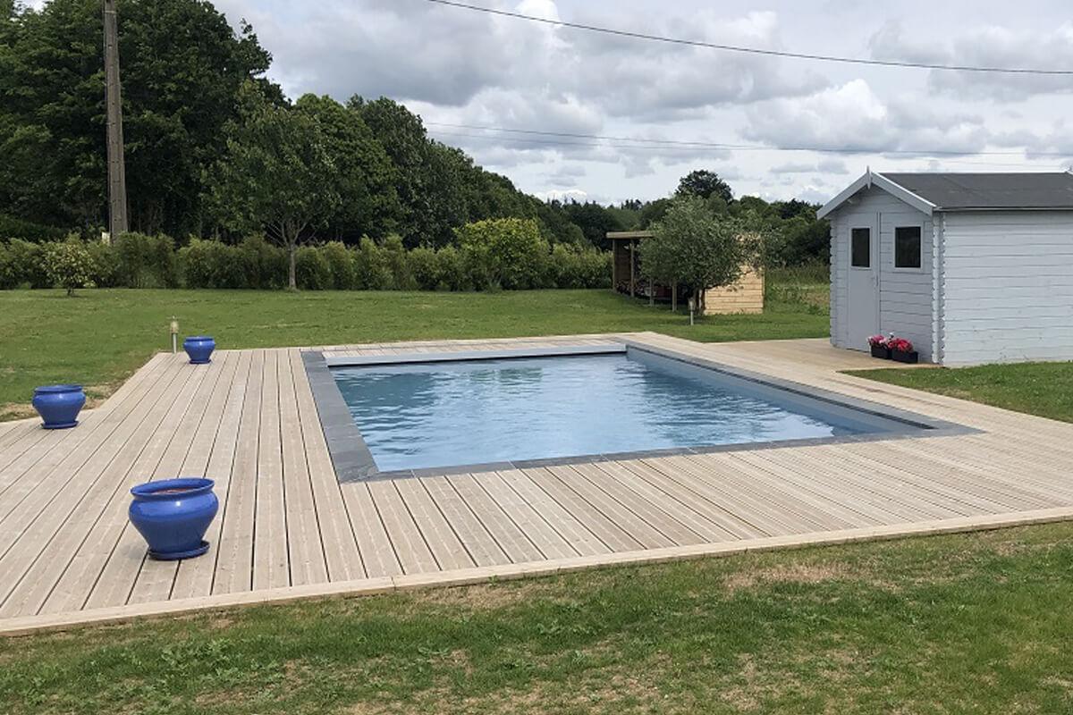 Construction de piscine vannes r alis e par mgw piscines - Construction piscine reglementation ...