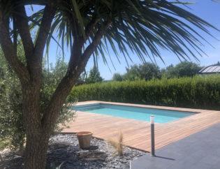 Construction de piscine Kervignac / Pays de Lorient