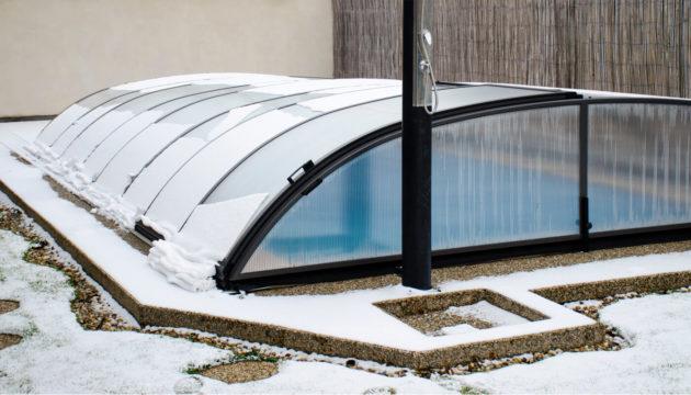 Hivernage piscine Morbihan