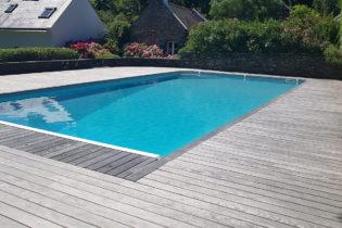Rénovation piscine extérieure Auray / Belle île en Mer